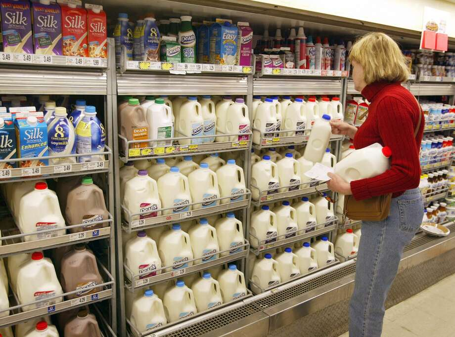 More milk on the roadThanks toSB 1383, the amount of milk that can be transported on a truck will increase from 80,000 pounds to 90,000 pounds. Photo: Tim Boyle/Getty Images