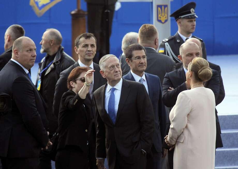 Mattis in Kyiv to Celebrate Ukraine's Independence Day