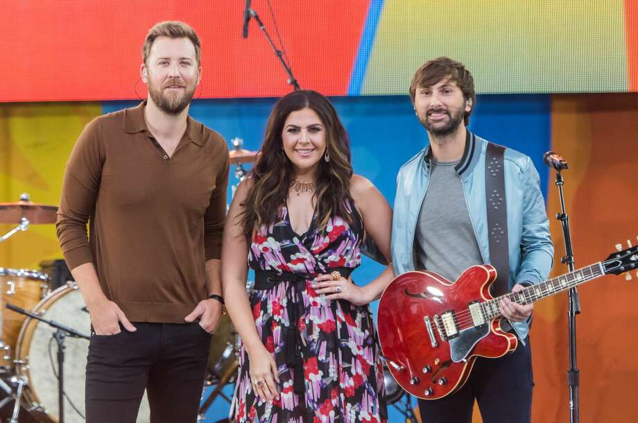 """NEW YORK, NY - JULY 14: (L-R) Charles Kelley, Hillary Scott and Dave Haywood of Lady Antebellum performs on ABC's """"Good Morning America"""" at Rumsey Playfield on July 14, 2017 in New York City. (Photo by Mark Sagliocco/FilmMagic) Photo: Mark Sagliocco/FilmMagic"""