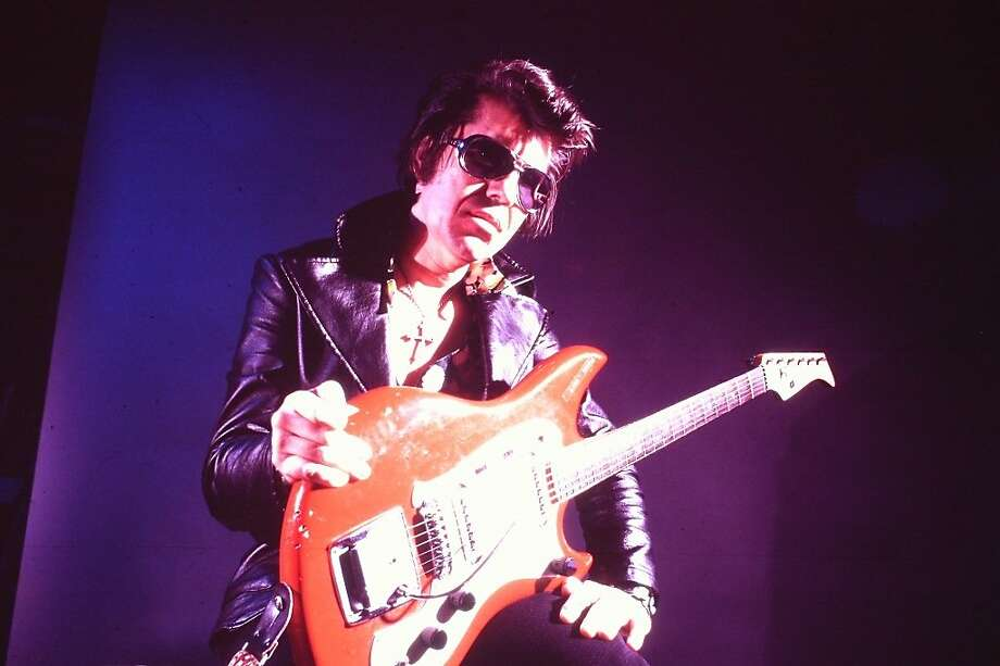 "Link Wray in the documentary ""Rumble: The Indians Who Rocked the World"" Photo: Photo By Bruce Steinberg Courtesy Linkwray.com / Kino Lorber."