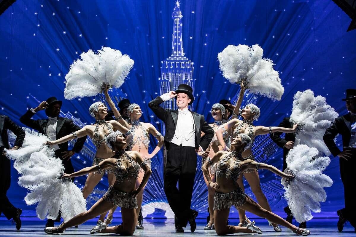 """Nick Spangler and the touring company of SHN's """"An American in Paris."""""""