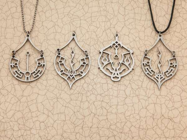 Playa Pendants Symbolize Burning Man Sfchronicle
