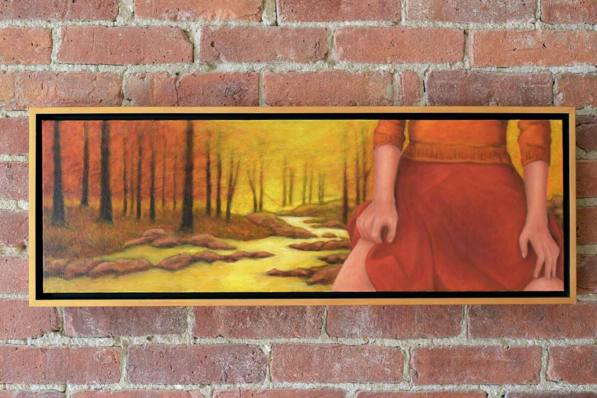 A view of a piece by artist Gary Masline titled