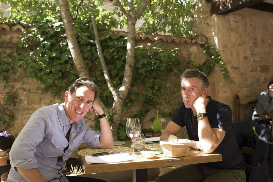 """Rob Brydon, left, and Steve Coogan star in """"The Trip to Spain."""""""