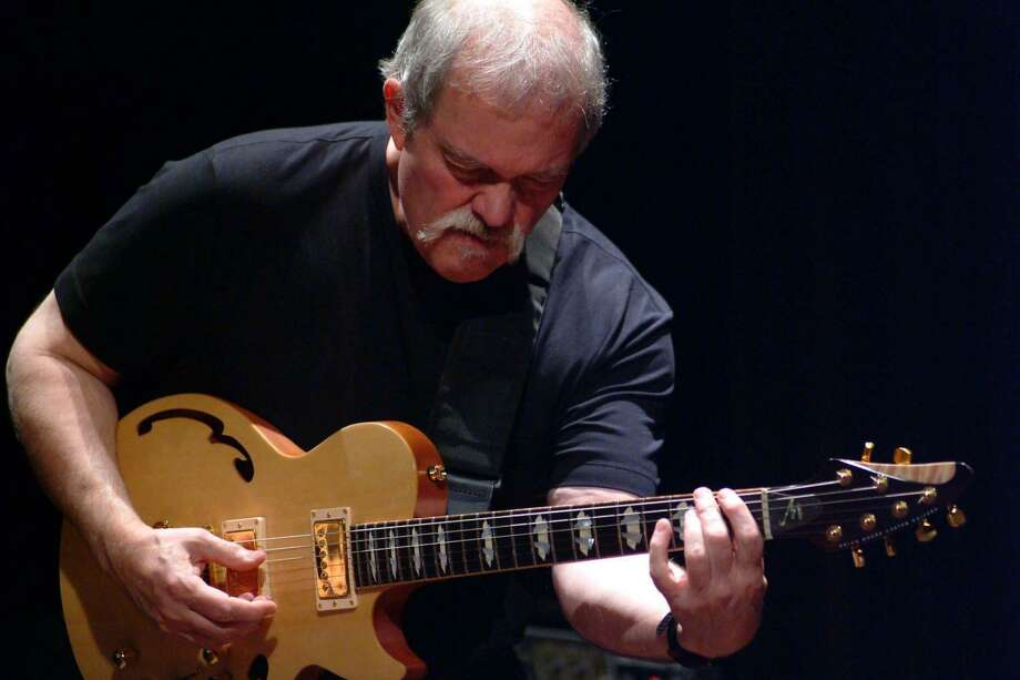 jazz guitarist, John Abercrombie  Ran on: 11-01-2007 Guitarist John Abercrombie makes a Jazz Festival appearance Saturday afternoon with Mark Feldman on violin, drummer Joey Baron and bassist Scott Colley. Photo: Ho / Ho