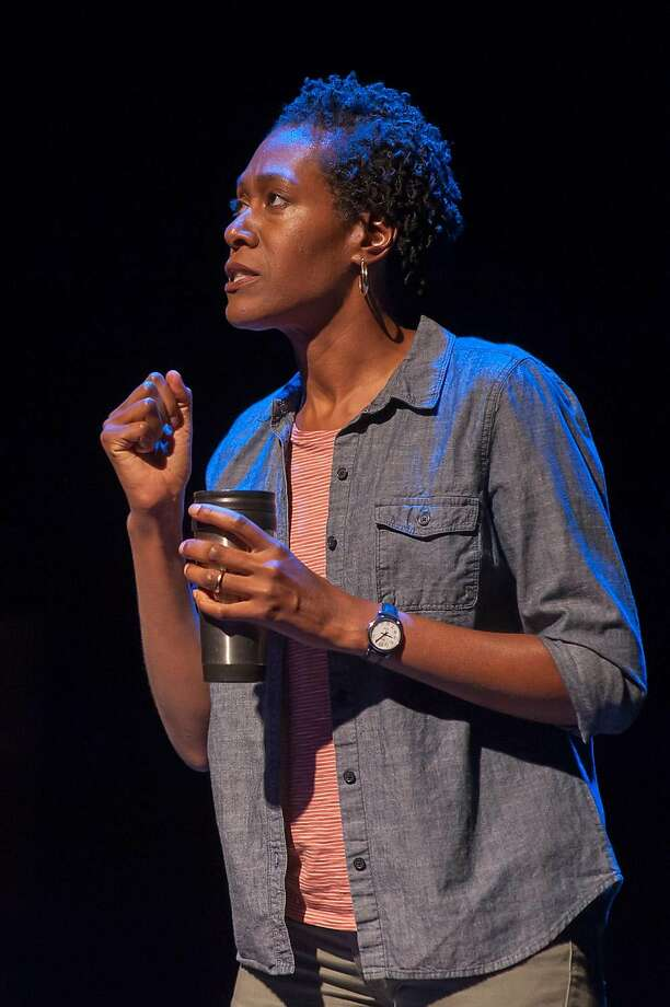 "Atim Udoffia in SF Playhouse's ""Zenith."" Photo: Ken Levin, San Francisco Playhouse"