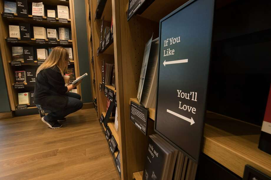Amazon Books opened its store in San Jose in 2017. Photo: Paul Kuroda / Special To The Chronicle