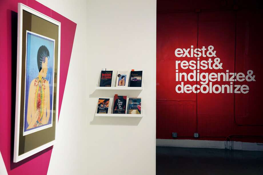 An August exhibition at the nonprofit Galería de la Raza. Photo: Santiago Mejia, The Chronicle