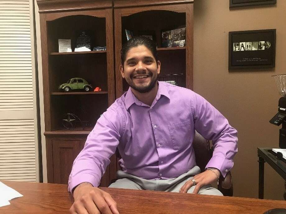 Heritage USA Federal Credit Union announced Thursday that Midland native Carlos Diaz has joined the financial institution as a loan officer. Photo: Courtesy Photo