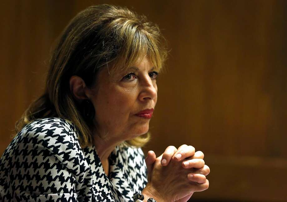 Rep. Jackie Speier meets with the Chronicle editorial board in San Francisco, Calif. on Thursday, Aug. 24, 2017. Click through the gallery to read about who the bombs targeted. Photo: Paul Chinn, The Chronicle