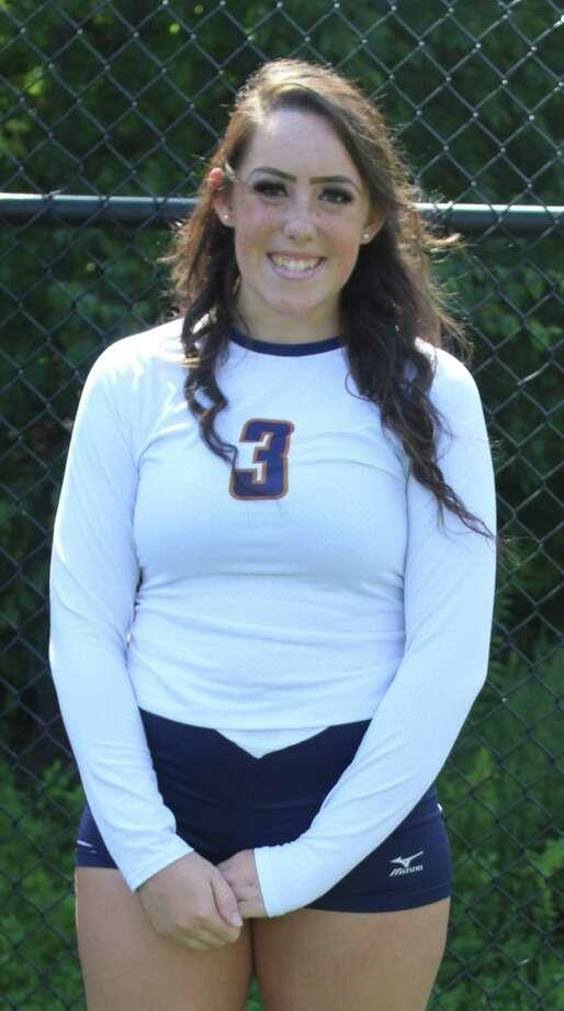 Western Connecticut State University volleyball player Jenna Skerritt. Photo: Richard Gregory / Richard Gregory