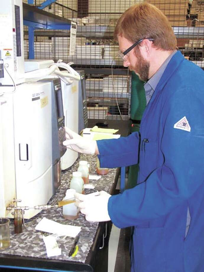 Matthew Lovely, PhD, the lab manager of Zedi's Permian Basin location,  is just one of the reasons Zedi gets results back to clients quickly and  with the utmost in accuracy. Call Zedi today at 432-242-3041. Photo: Paul Wiseman