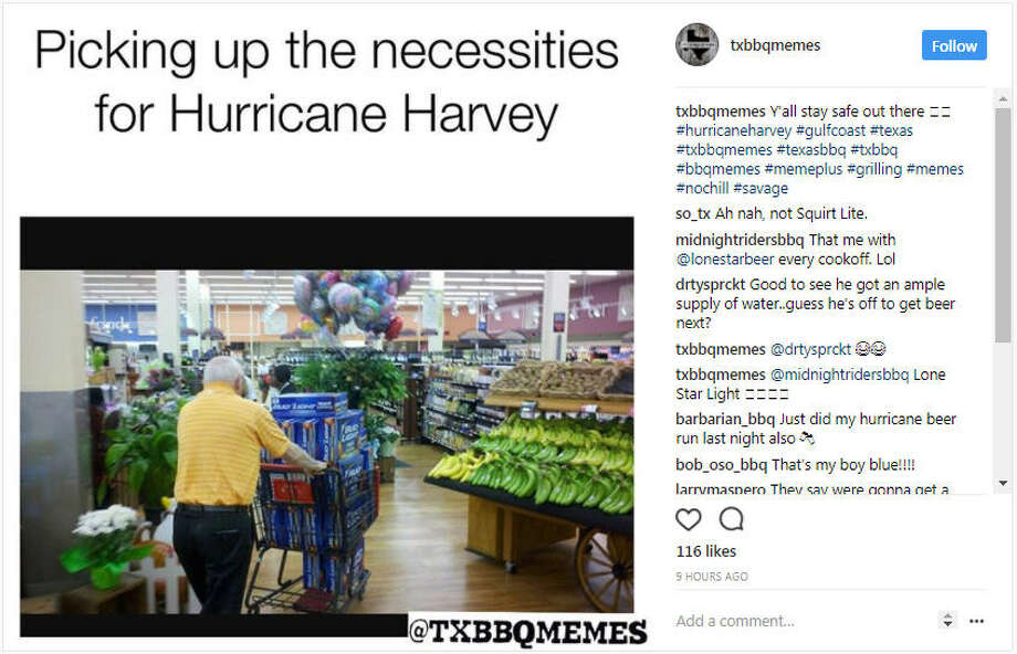 txbbqmemes Y'all stay safe out there Photo: Instagram