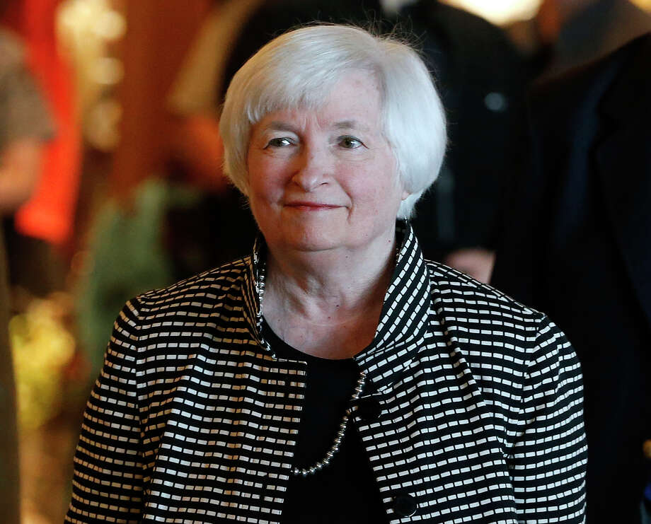 Janet Yellen could offer guidance Friday on what the Federal Reserve might announce at its next meeting. Photo: Brennan Linsley, STF / Copyright 2016 The Associated Press. All rights reserved. This material may not be published, broadcast, rewritten or redistribu