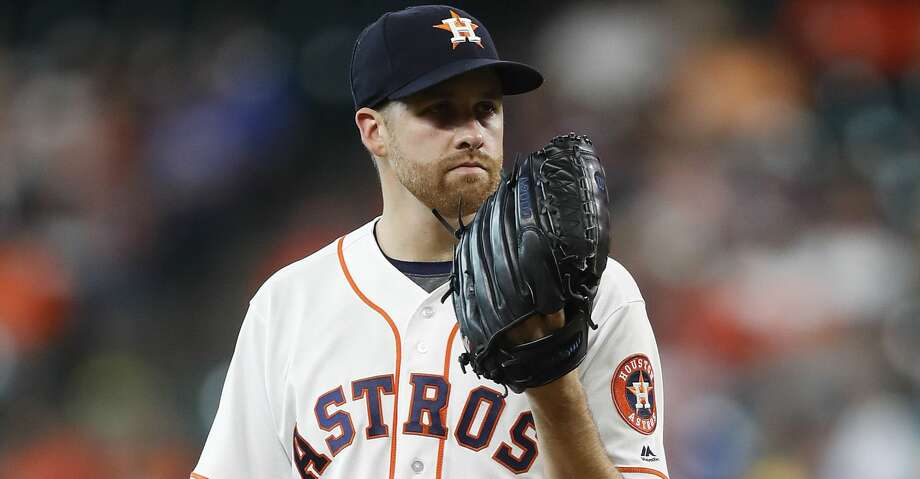 Collin McHugh will start for the Astros on Tuesday while Lance McCullers throws another bullpen session. Photo: Karen Warren/Houston Chronicle