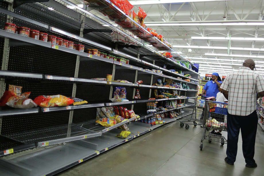 Food and batteries aren't the only things Houston-area residents are buying in preparation for Hurricane Harvey. Swipe through to see other ways people are preparing. Photo: Joe Raedle/Getty Images