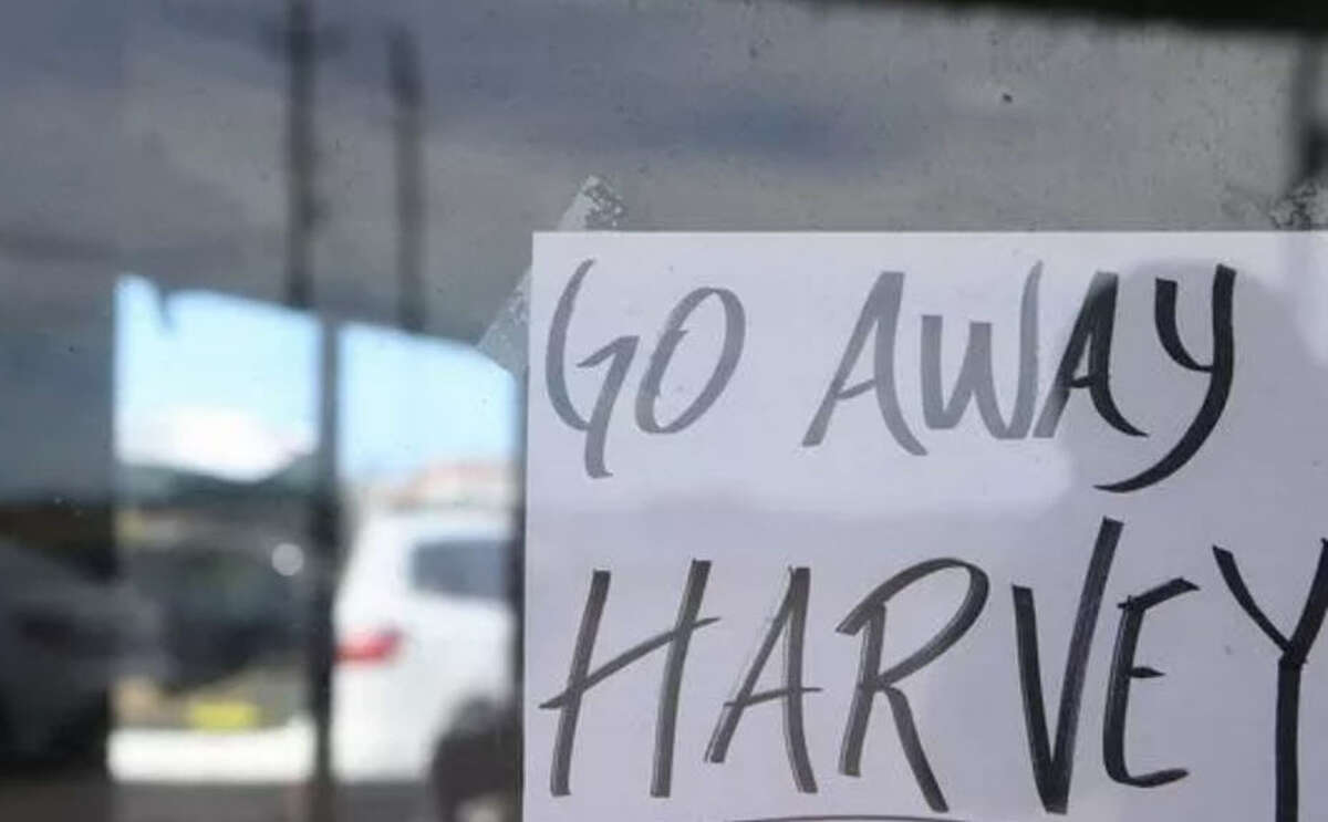 Residents and business owners in Corpus Christi refuse to remain quiet while Hurricane Harvey bears down on the coastal town.