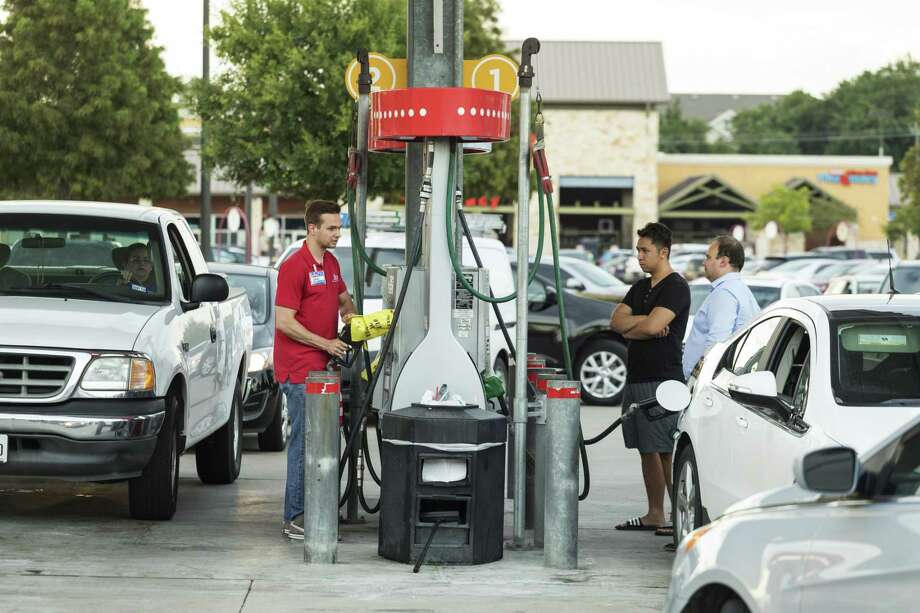 Gas shortages have spiked fuel prices in Texas and prompted sporadic gas station closures and lines meandering around blocks.We consulted Gas Buddy on local gas prices and give you what we found out. Photo: F. Carter Smith, Bloomberg / © 2017 Bloomberg Finance LP