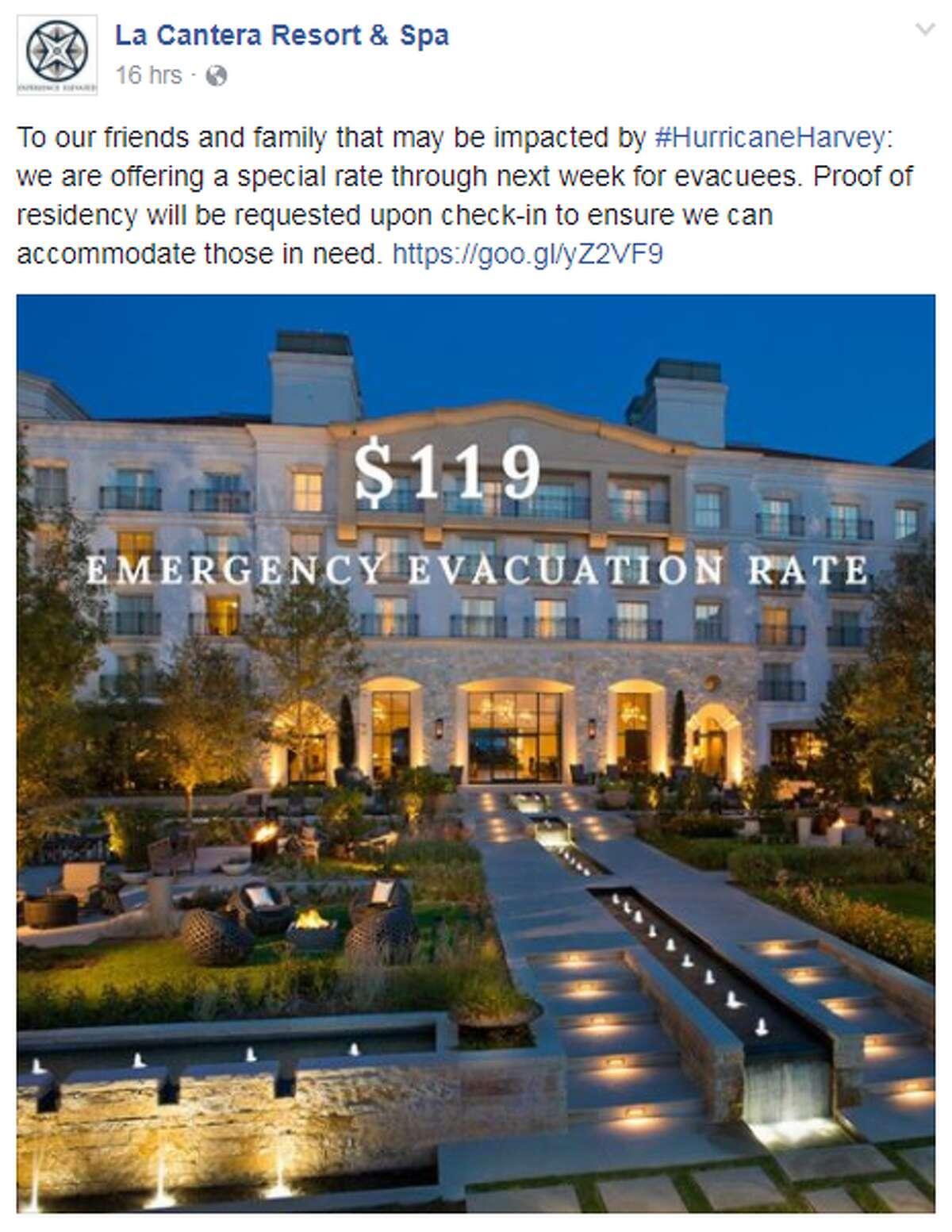 La Cantera Resort & Spa Offering a $110