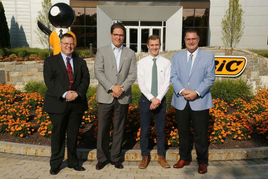 Fairfield resident Patrick Agonito won a $3,000 scholarship from the BIC Corporation. Photo: Contributed Photo