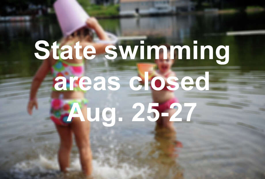 Click through the slideshow to see what state beaches and parks have closed swimming areas this weekend due to high bacteria count or blue algae.  / Connecticut Post