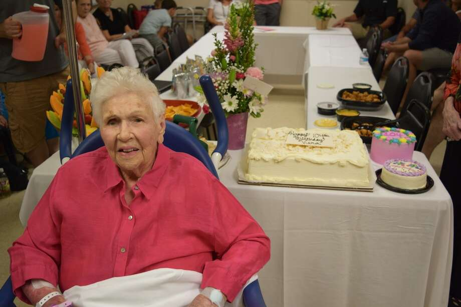 Very May celebrated her 104th birthday just a few weeks after receiving a  transcatheter aortic valve replacement performed by Dr. Khalid Khalef, affiliated with Memorial Hermann Heart & Vascular Institute in the Texas