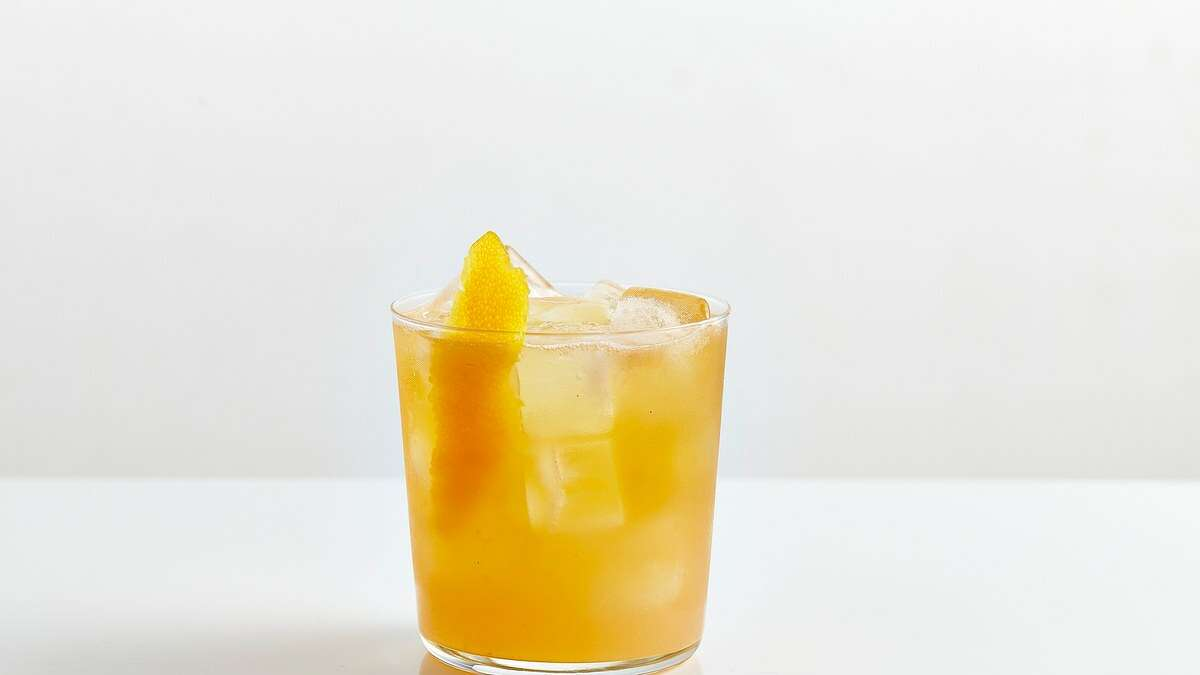 The Harvey Wallbanger cocktail is made with vodka, orange juice and Galliano, an Italian herbal liqueur.