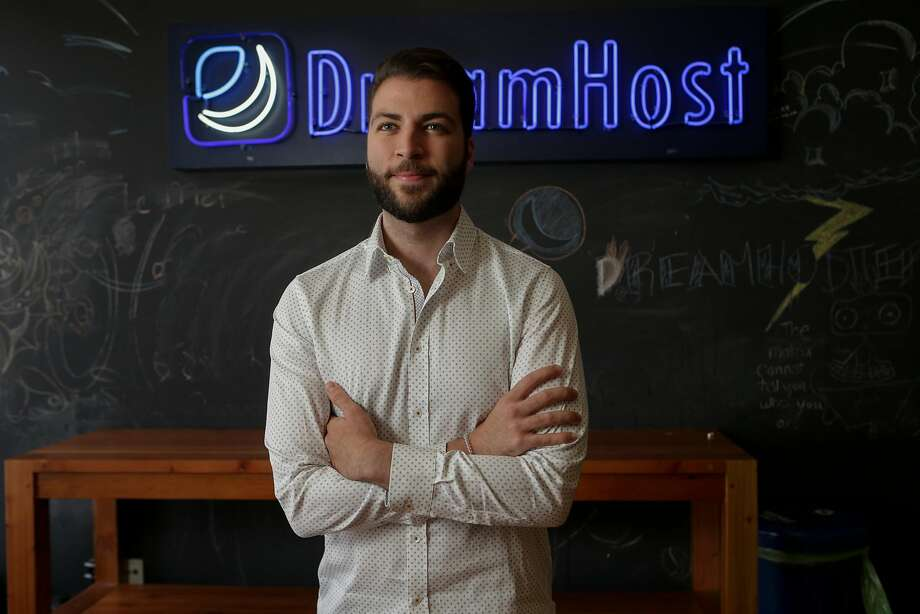 Christopher Ghazarian, general counsel of DreamHost, is photographed on Aug. 16, 2017 at his office in Los Angeles. DreamHost is fighting federal subpoena for information on web visitors to anti-Trump web site. Photo: Irfan Khan, TNS