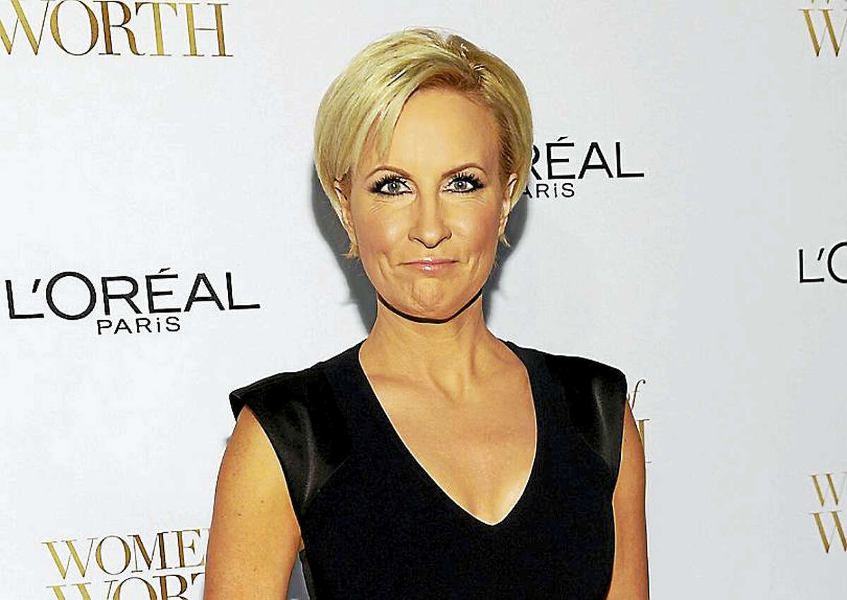 "In this Dec. 2, 2014, file photo, Mika Brzezinski arrives at the Ninth Annual Women of Worth Awards in New York. President Donald Trump has used a series of tweets to go after Brzezinski and Joe Scarborough, who've criticized Trump on their MSNBC show ""Morning Joe""."