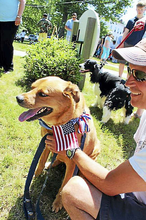 Pets of all shapes and sizes are welcome at the Litchfield Pet Parade on July 4. Photo: Photos Courtesy Of Litchfield Historical Society