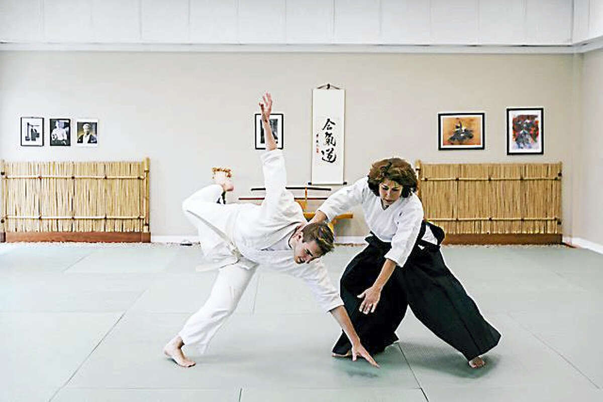 Photo by Jacek Dolata PhotographyAikido uses non-violent movement to defend one's self.