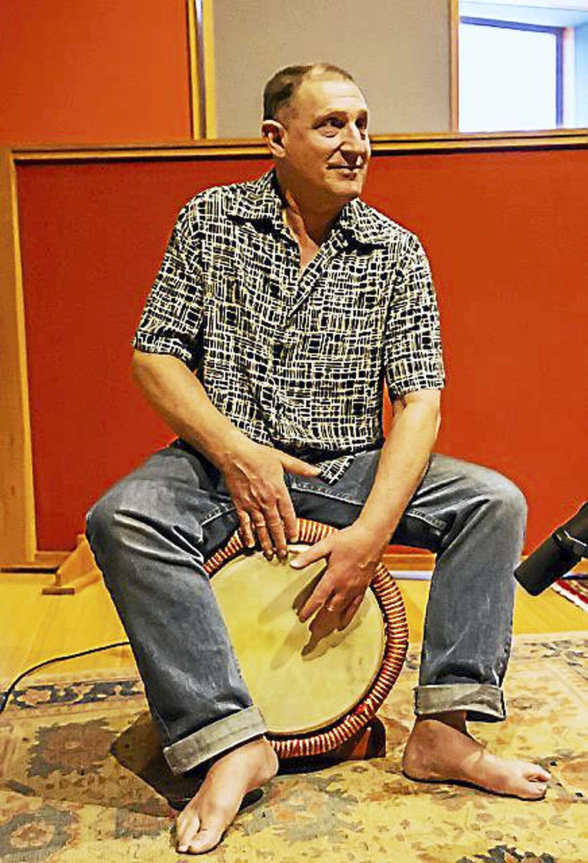 Julian Gerstin Sextet, led by Julian Gerstin, performs July 14 at the Buttonwood Tree.