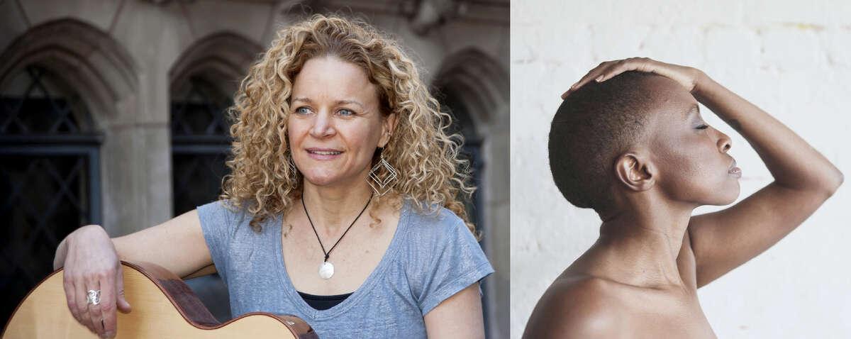 Singer-songwriter Lara Herscovich and folk artist Naomi Wachira perform July 22.