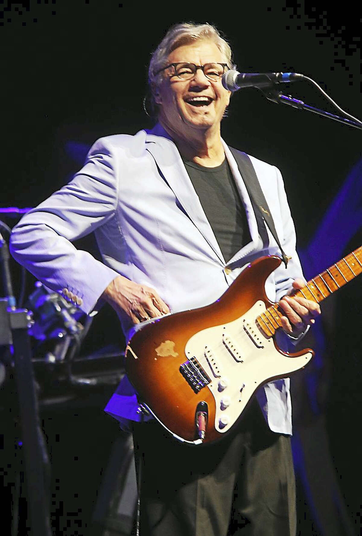 Photo by John AtashianLegendary singer, songwriter and guitarist Steve Miller is shown having fun on stage at the Foxwoods Resort Casino on Saturday night June 24. Also included on the double bill was musician Peter Frampton. To list of great entertainment coming to Foxwoods you can visit www.foxwoods.com