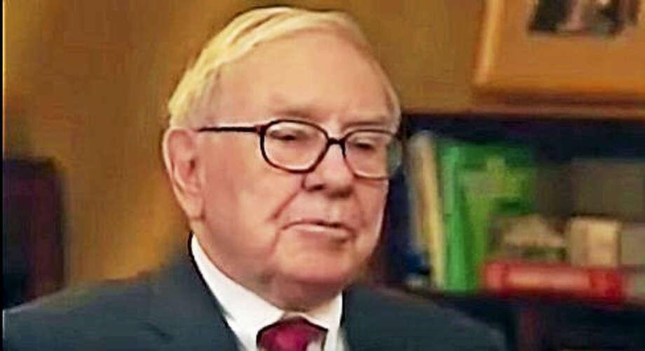 (Warren Buffet - SEIU 1199 ad) Photo: Digital First Media
