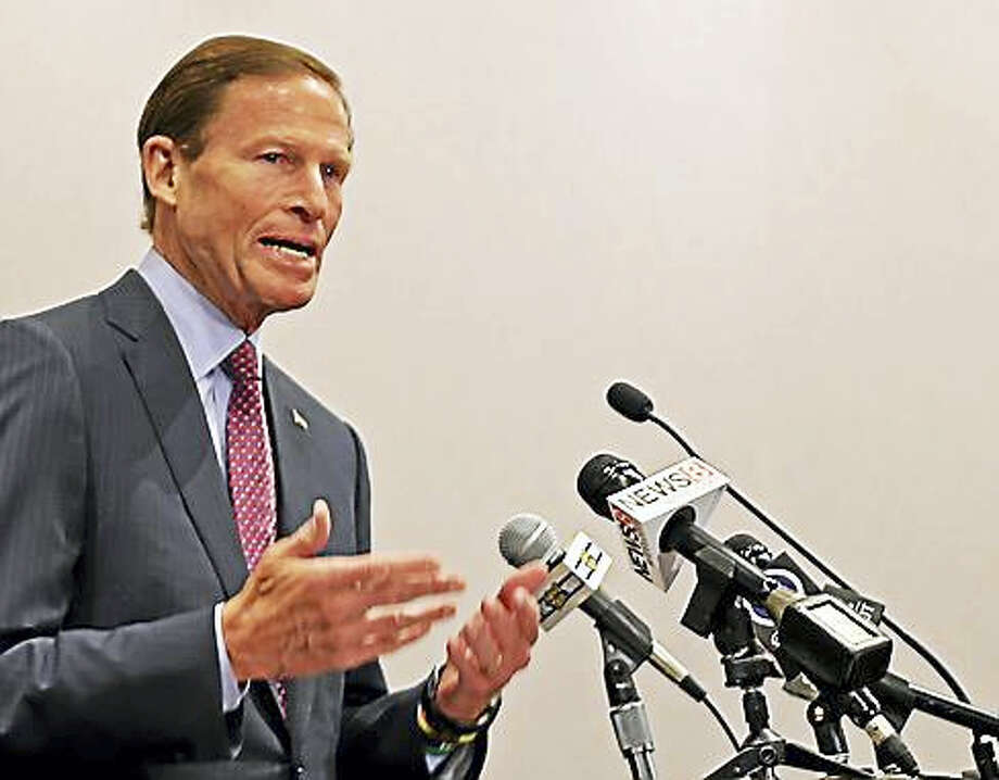 (Richard Blumenthal - CTNewsjunkie file photo) Photo: Digital First Media