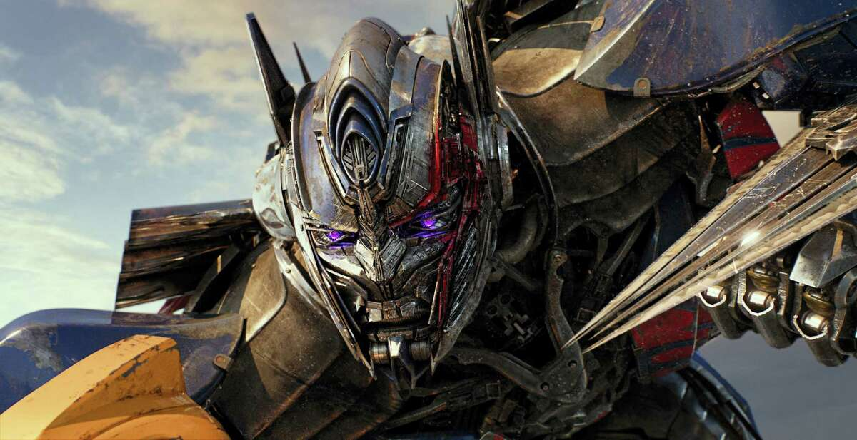 """This image released by Paramount Pictures shows Optimus Prime in a scene from, """"Transformers: The Last Knight."""""""