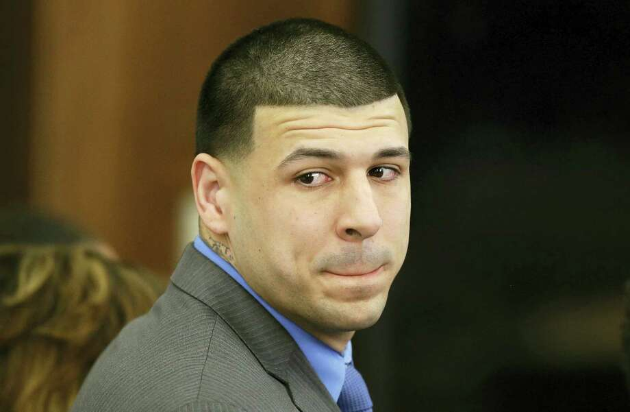 Massachusetts prosecutors on Friday appealed a court ruling that erased Aaron Hernandez's murder conviction in the 2013 killing of a semi-professional football player. Photo: The Associated Press File Photo  / Copyright 2017 The Associated Press. All rights reserved.