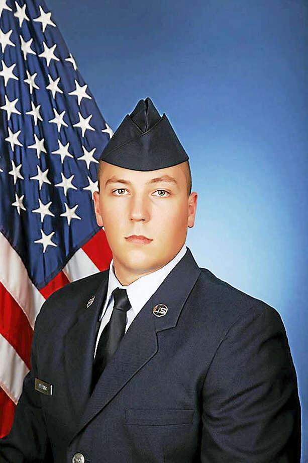 Airman Alex Deering Photo: Digital First Media