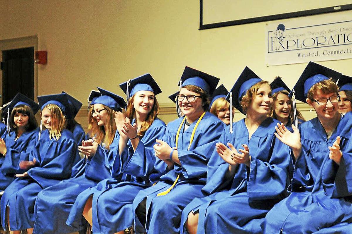 Explorations Charter School held its class of 2017 graduation on June 23, 2017.