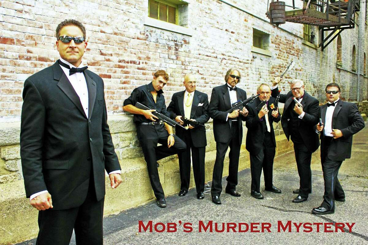 "Aspen Dream Productions will perform its dinner theater show, ""Mob's Murder Mystery"" in July as a benefit for St. Peter/St. Francis School in Torrington."