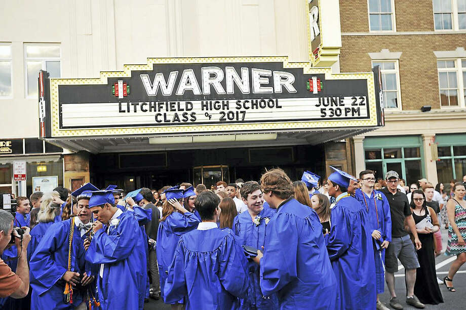The Litchfield High School class of 2017 was honored Thursday, June 22, 2017 with its graduation ceremony at the Warner Theater in Torrington. Photo: Ben Lambert / Hearst Connecticut Media
