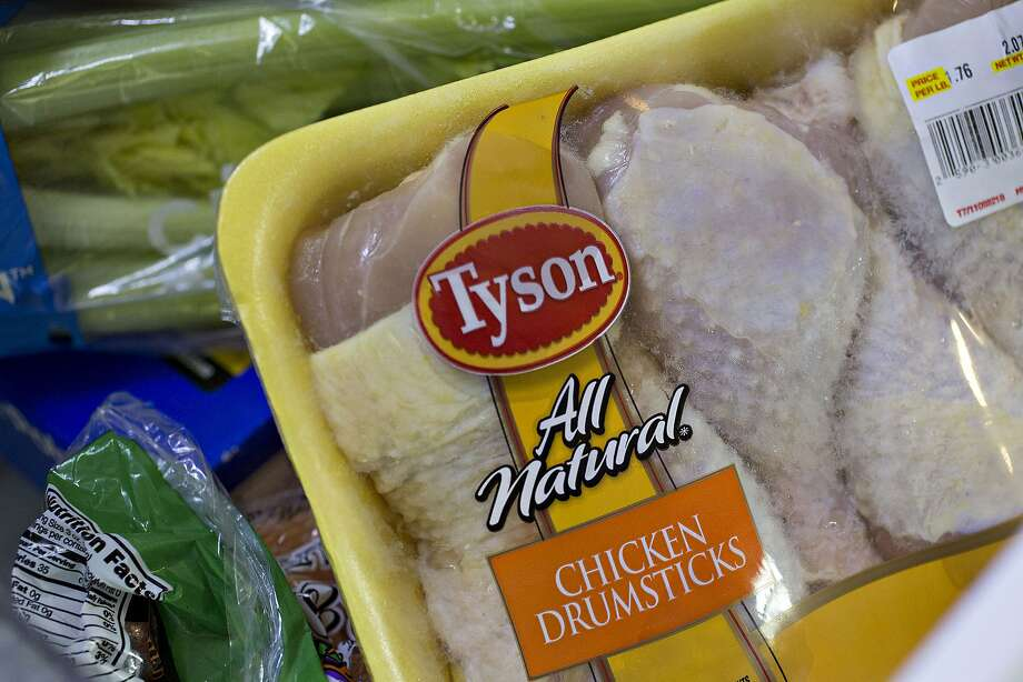 An animal-rights nonprofit released a video of what it calls animal abuse at a Tyson Foods supplier in Virginia. Photo: Daniel Acker, Bloomberg