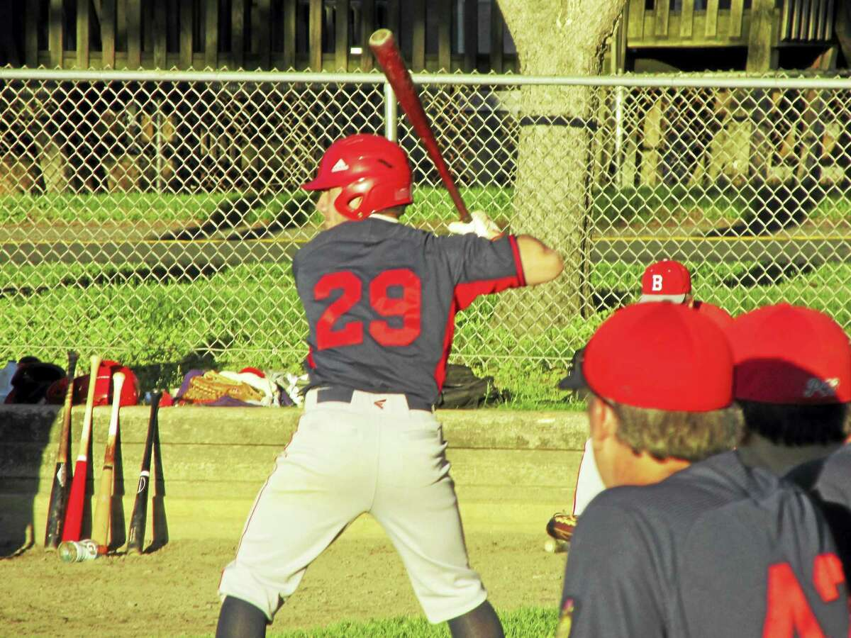 Vin Tranceti came through with the tying double in Winsted's American Legion baseball come-from-behind win over Bristol Tuesday afternoon at Walker Field.