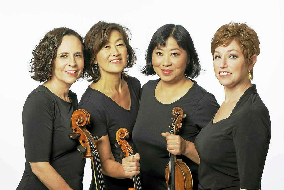 The Cassatt String Quartet and pianist Mihae Lee will perform Sunday afternoon at Music Mountain in Falls Village. Photo: Contributed Photo  / ablogina