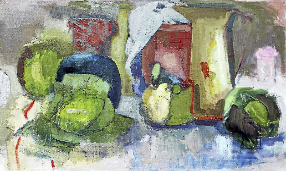 Malthouse Still Life(Revisited), 2016, Ruth Miller, oil on linen, 16 x 20 in.