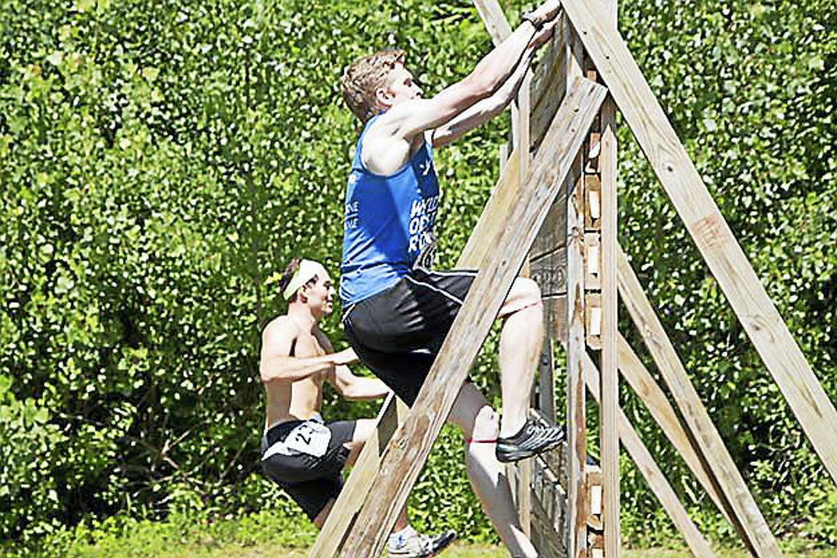 Participants tackle the obstacles in last year's WYLD Obstacle Run.