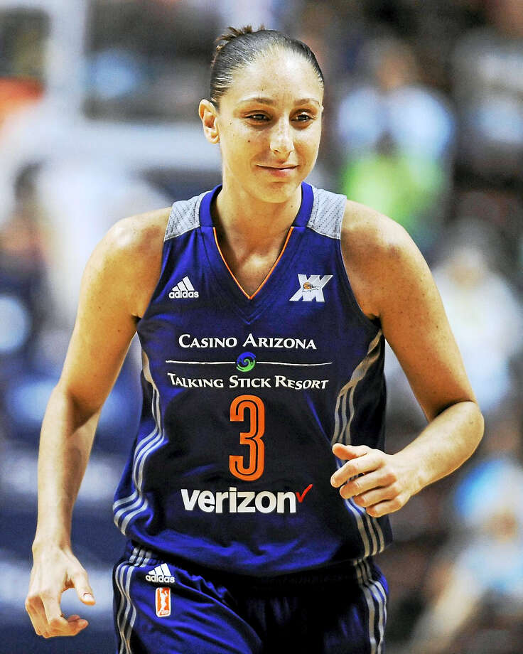 The Mercury's Diana Taurasi became the WNBA's career scoring leader on Sunday. Photo: The Associated Press File Photo  / AP2016