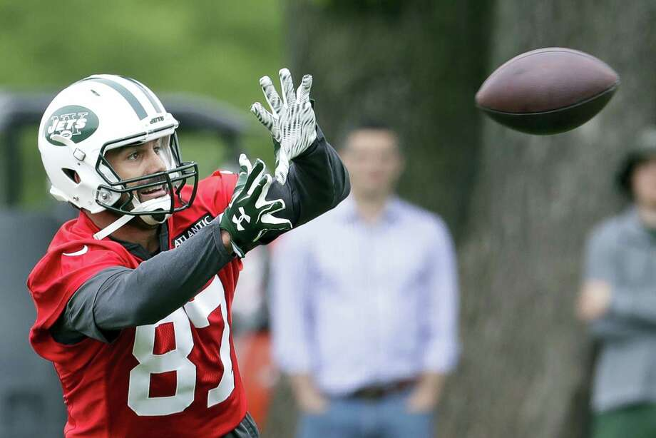 Former New York Jets wide receiver Eric Decker has agreed to a deal with the Titans. Photo: The Associated Press File Photo  / Copyright 2017 The Associated Press. All rights reserved.