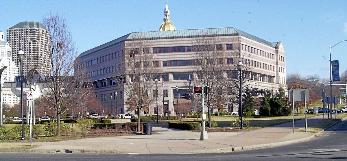 The Legislative Office Building in Hartford, Conn. (AP Photo — Bob Child)